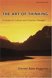 Cover of: The Art of Thinking | Vincent R. Ruggiero