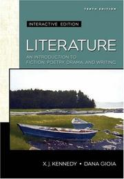 Cover of: Literature: An Introduction to Fiction, Poetry, and Drama by Dana Gioia