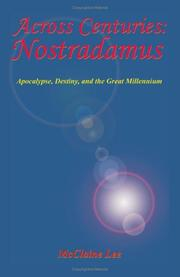 Cover of: Across centuries, Nostradamus | McClaine Lee