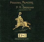 Cover of: Memoirs of P.H. Sheridan | General Philip H. Sheridan