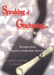 Cover of: Speaking of Graduating | Alan Ross