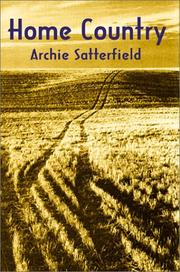 Cover of: Home Country | Archie Satterfield