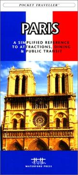 Cover of: Paris Pocket Traveller by James Kavanagh