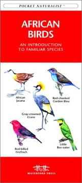 Cover of: African Birds | James Kavanagh