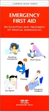 Cover of: Emergency First Aid | James Kavanagh