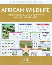 Cover of: African Wildlife Nature Activity Book | James Kavanagh