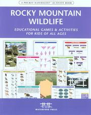 Cover of: Rocky Mountain Wildlife Nature Activity Book | James Kavanagh