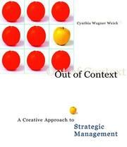 Cover of: Out of Context by Cynthia Wagner Weick