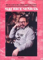 Cover of: Maurice Sendak (Real-Life Reader Biography) (Real-Life Reader Biography) by Ann Gaines