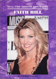 Cover of: Faith Hill (Real - Life Reader Biography) by Ann Gaines