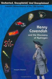 Cover of: Henry Cavendish and the discovery of hydrogen by Josepha Sherman