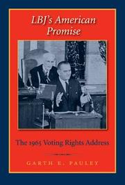 Cover of: LBJ's American Promise | Garth E. Pauley