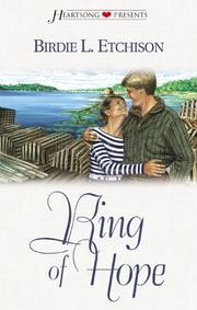 Cover of: Ring of hope by Birdie L. Etchison