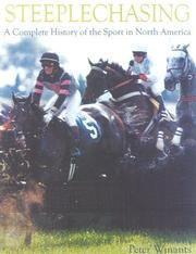 Cover of: Steeplechasing by Peter Winants