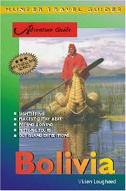 Cover of: Bolivia Adventure Guide by Vivien Lougheed
