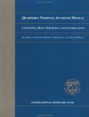 Cover of: Quarterly national accounts manual | Adriaan M. Bloem
