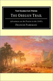 Cover of: The Oregon Trail | Francis Parkman