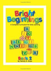 Cover of: Bright Beginnings, Books 1 and 2 | Tammy Shaw