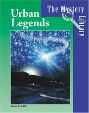 Cover of: Urban legends | Stuart A. Kallen