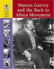 Cover of: Marcus Garvey and the Back to Africa Movement | Stuart A. Kallen