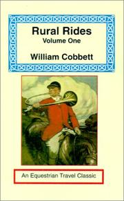 Cover of: Rural Rides (Equestrian Travel Classics) | William Cobbett