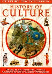 Cover of: Culture Encyclopedia History of Culture (Culture Encyclopedia) | Fiona MacDonald