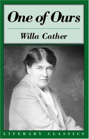 Cover of: One of ours by Willa Cather
