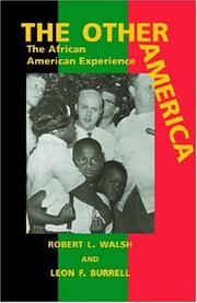 Cover of: The Other America by Robert L. Walsh & Leon F. Burrell