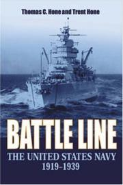 Cover of: Battle line | Thomas Hone