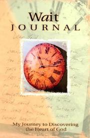 Cover of: Wait Journal | Marianne R. Richmond