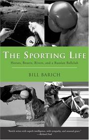 Cover of: The Sporting Life by Bill Barich
