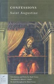 Cover of: Confessions | Augustine of Hippo