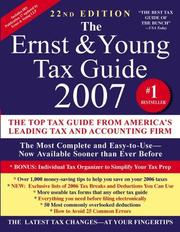 Top federal tax issues for 2012 2011 edition open library the ernst young tax guide 2007 fandeluxe Images