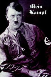 Cover of: Mein Kampf | Adolf Hitler
