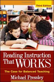 Cover of: Reading Instruction That Works by Michael Pressley
