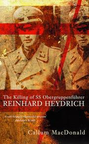 Cover of: Killing of Ss Obergrueppen | Call Macdonald