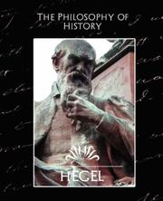Cover of: The Philosophy of History | Hegel