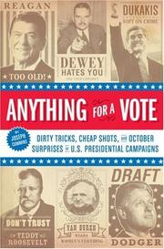 Cover of: Anything for a Vote | Joseph Cummins