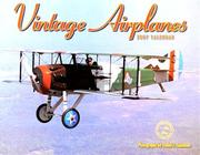 Cover of: Vintage Airplanes 2007 Calendar | Dan Simonsen