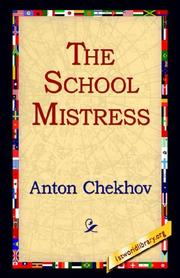 Cover of: The School Mistress by Anton Pavlovich Chekhov