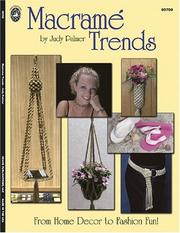 Cover of: Macrame Trends | Judy Palmer