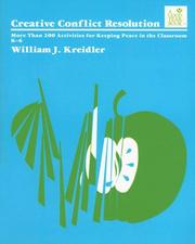 "Cover of: ""Creative Conflict Resolution, 2E"" by William J. Kreidler"