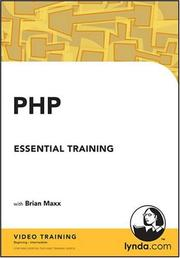 Cover of: PHP Essential Training | Brian Maxx