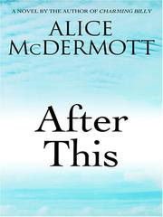 Cover of: After This | Alice McDermott