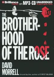 Cover of: Brotherhood of the Rose, The | David Morrell