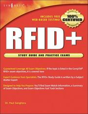Cover of: RFID+ by Paul Sanghera