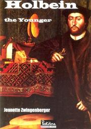 Cover of: Holbein | Jeanette Zwingenberger