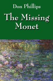 Cover of: The Missing Monet | Don Phillips