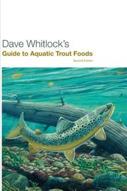 Cover of: Dave Whitlock's Guide to Aquatic Trout Foods | Dave Whitlock