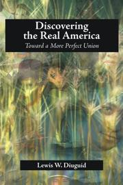 Cover of: Discovering the Real America | Lewis, W. Diuguid